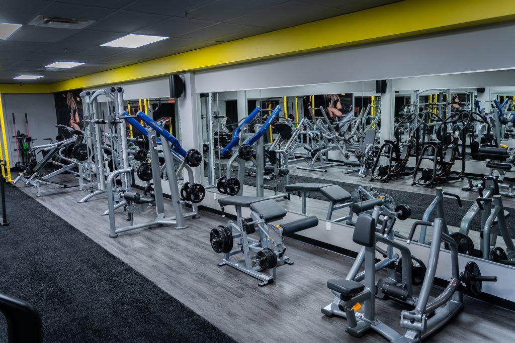 Gym de la succursale DivasFit Élite