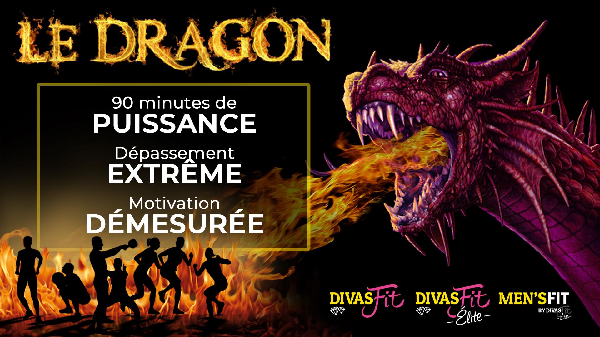 Visuel cours le dragon de Divas-Fit