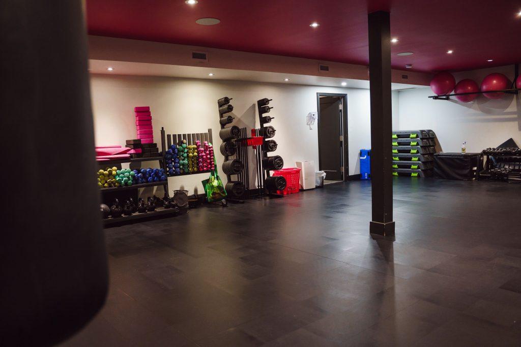 Salle d'entrainement succursale DivasFit 100 % Féminin