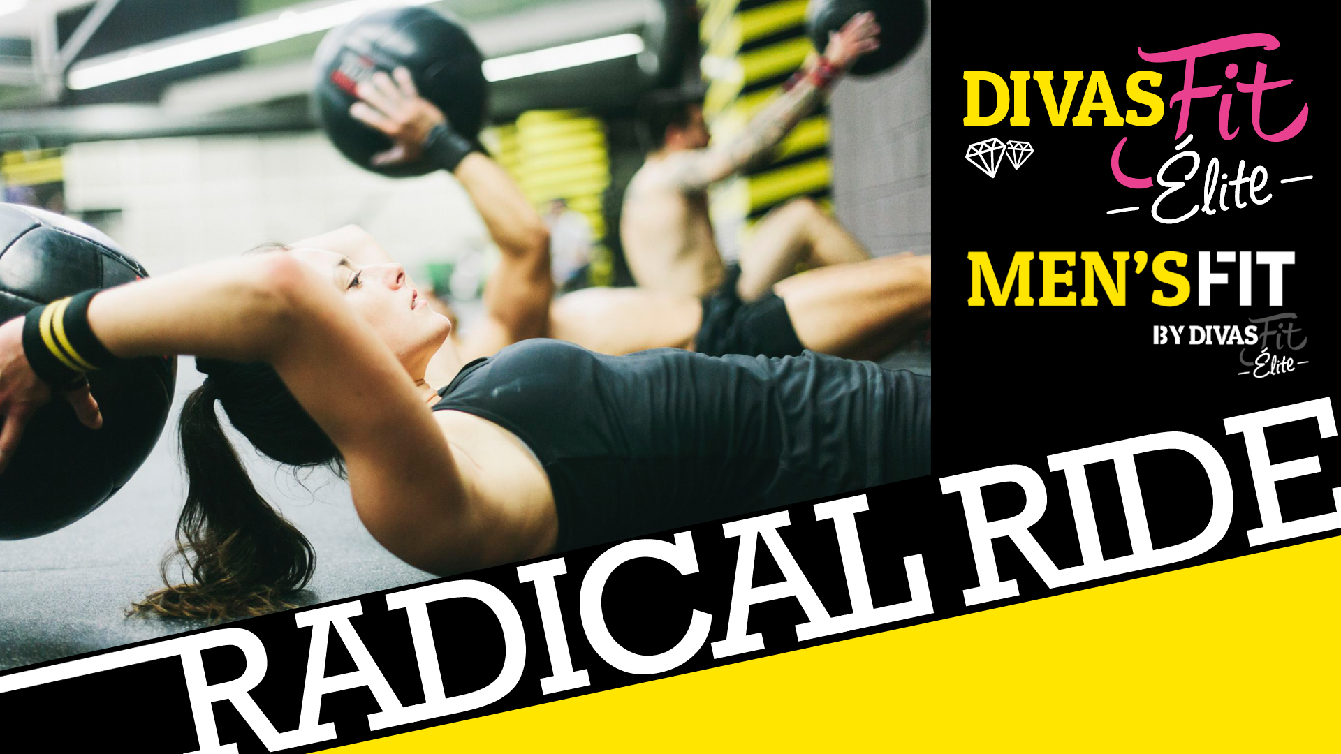 Visuel cours radical ride de DivasFit